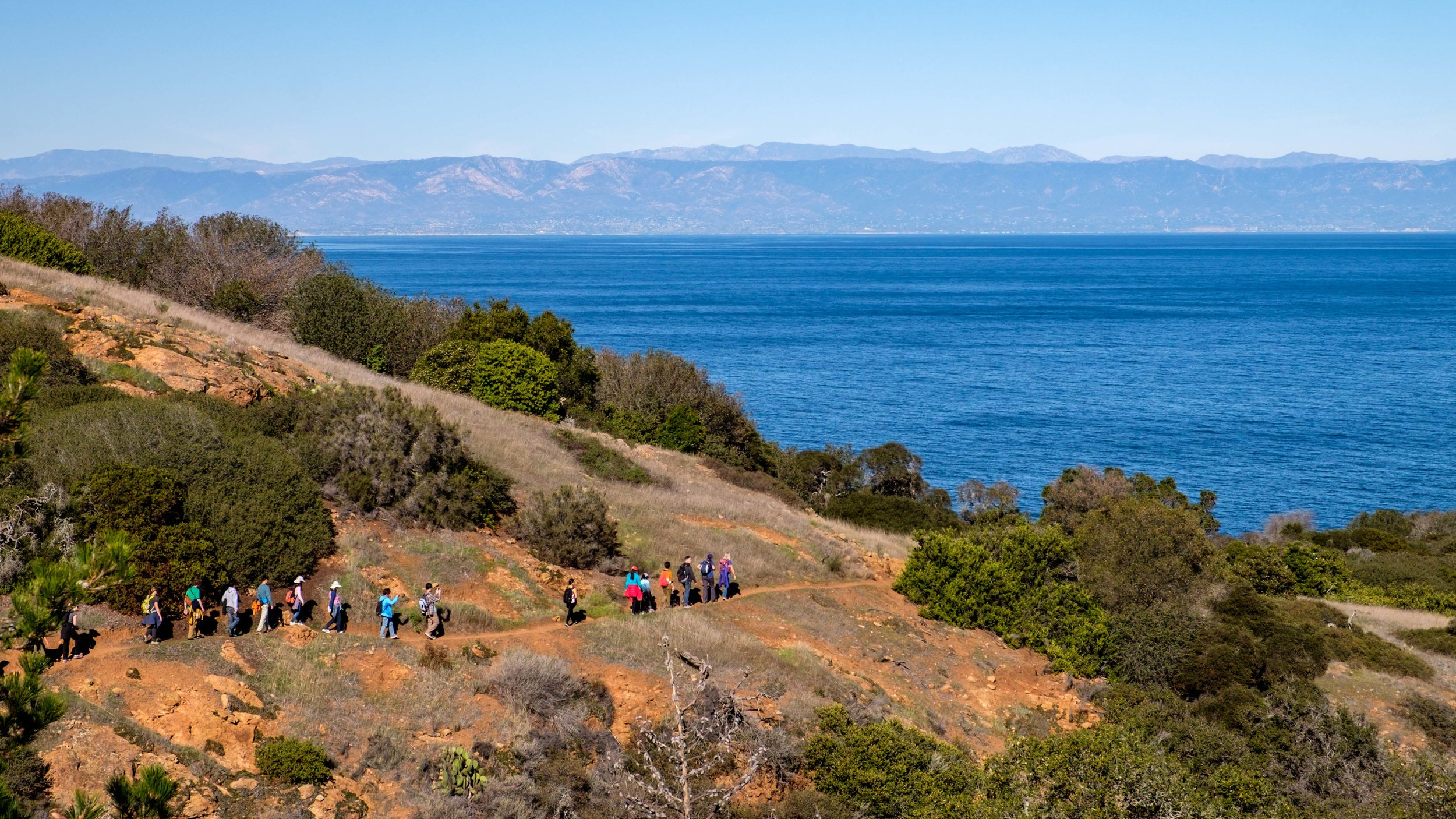 The 4-mile Pelican Bay hike can be explored only by travelers aboard the Island Packers ferry. That's your ticket into the coastal property of The Nature Conservancy. (Guided by Island Packers staff)