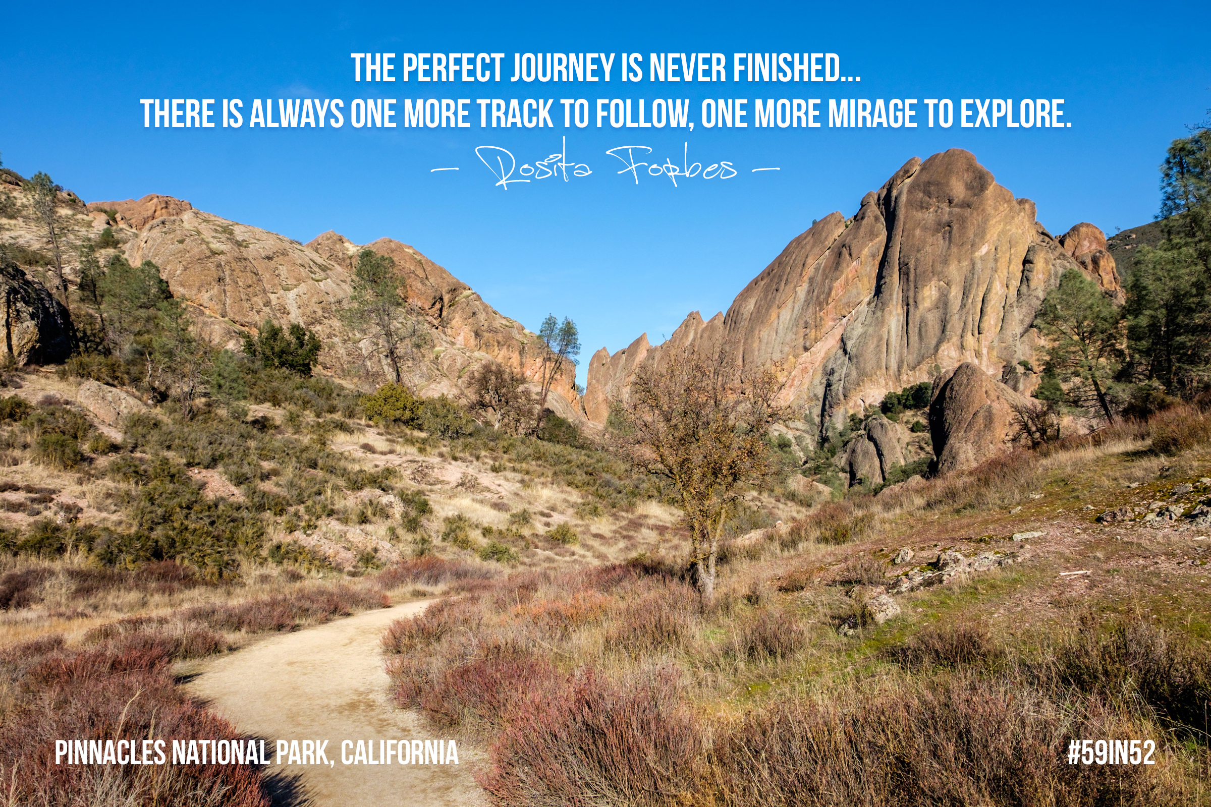 """""""The perfect journey is never finished... there is always one more track to follow, one more mirage to explore."""" - Rosita Forbes"""