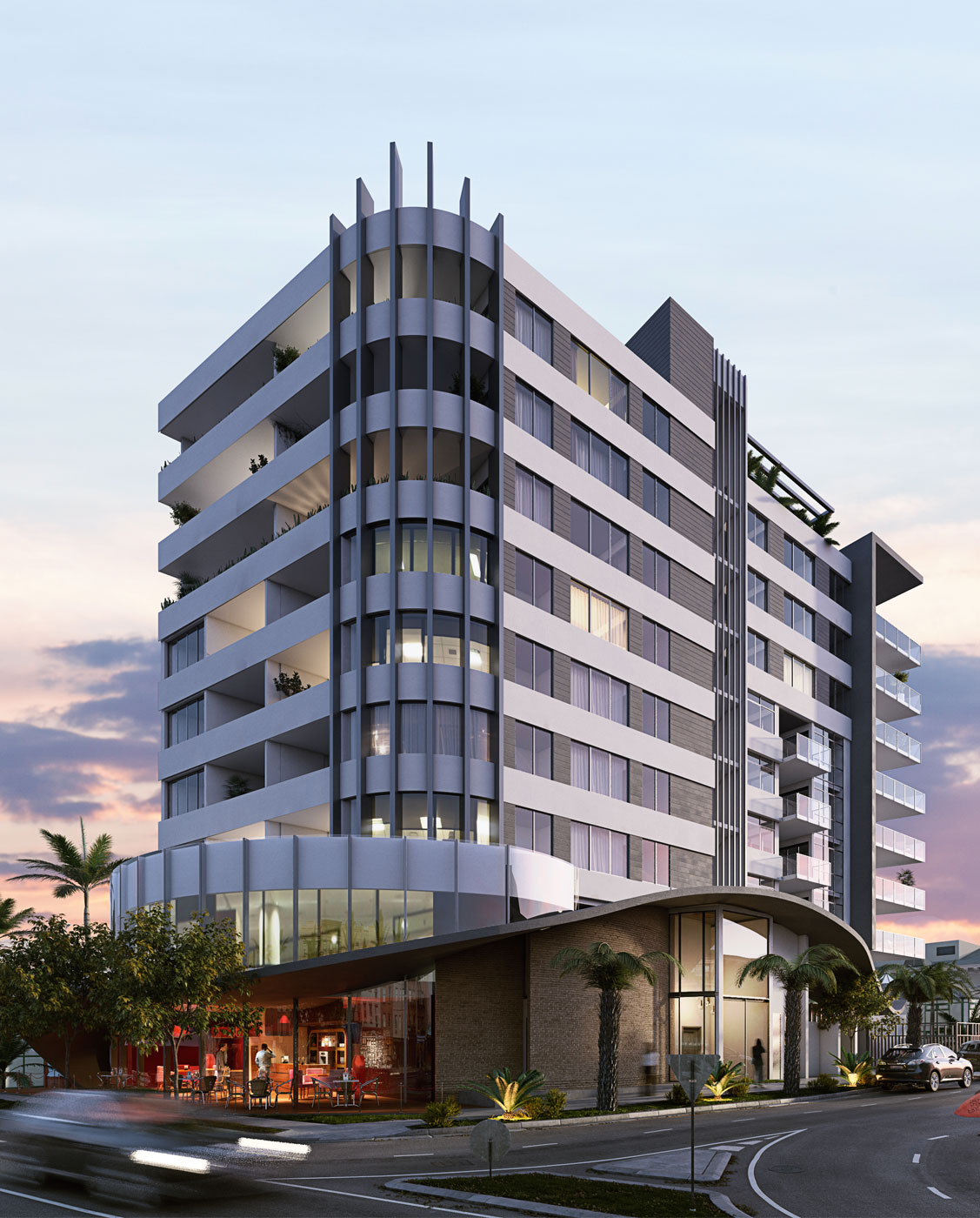 Peerless Ave & Gold Coast Highway, Broadbeach