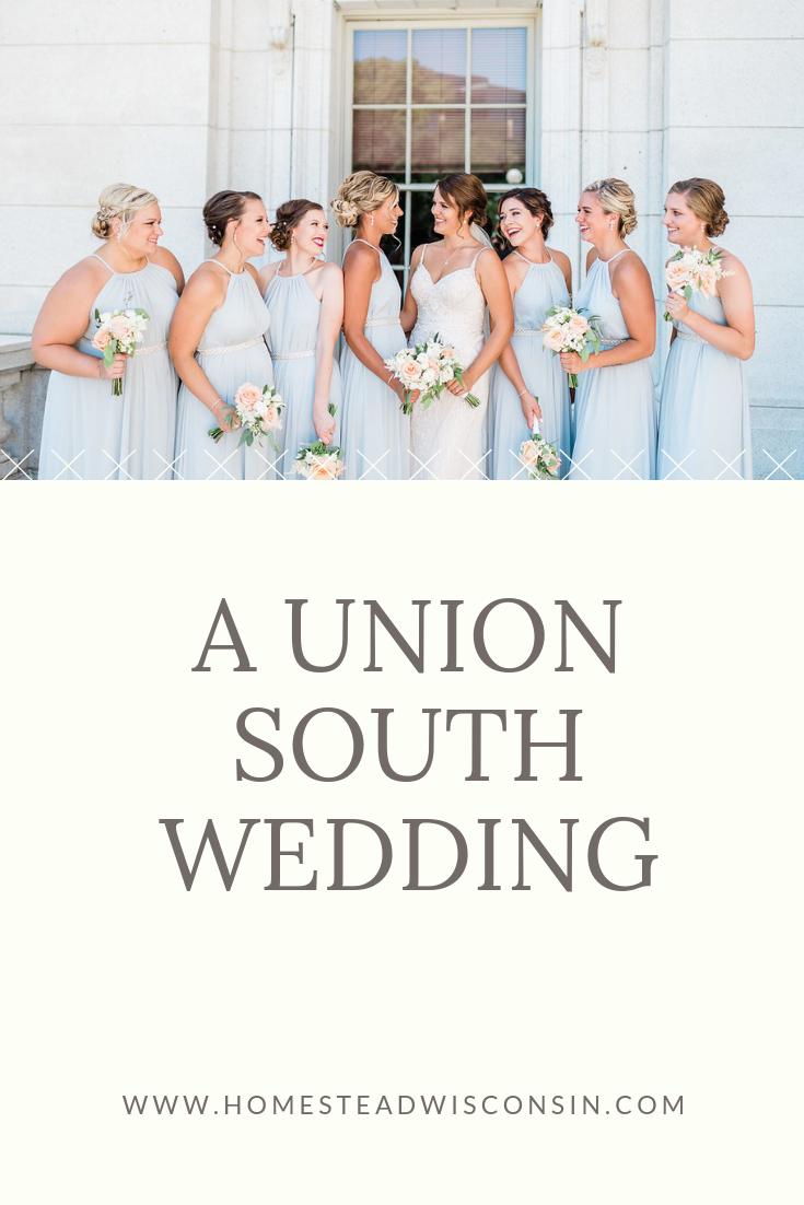 A Union South Wedding | Homestead Wisconsin | Madison Wedding Florist