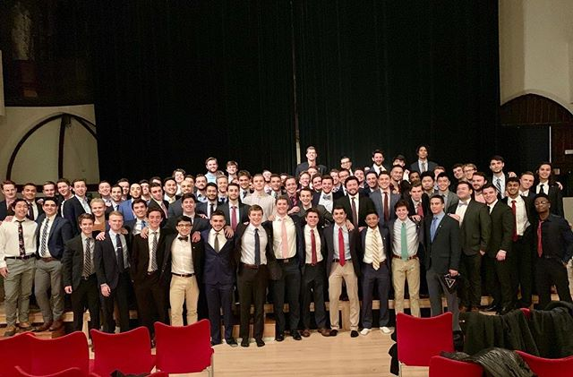 Congratulations to Lambda class on being initiated this weekend. We're very excited to welcome them to our brotherhood and see all of the great things they are going to accomplish.