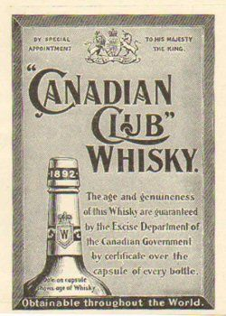 $5 Canadian Club Whiskey!! Tonight Only...