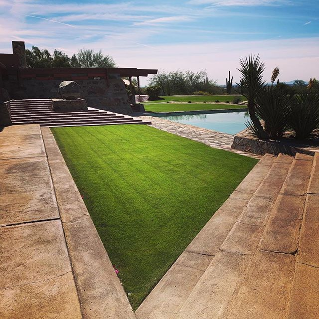 Angles for days. #taliesinwest #franklloydwright