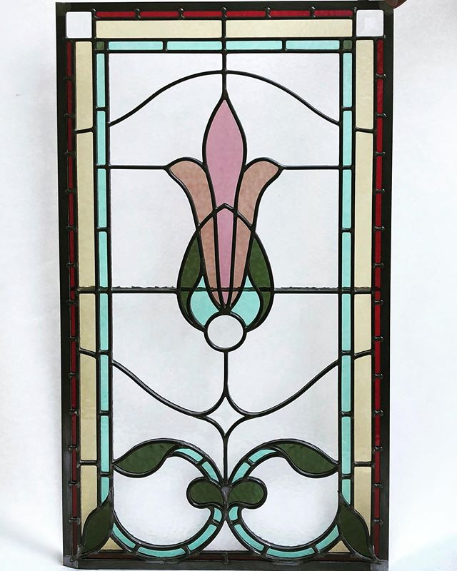 We designed a pair of these for a new set of office doors in the c.1905 Chappell residence, currently the home of the Japanese Consul General. Delivered yesterday, we can't wait to see how they look installed!