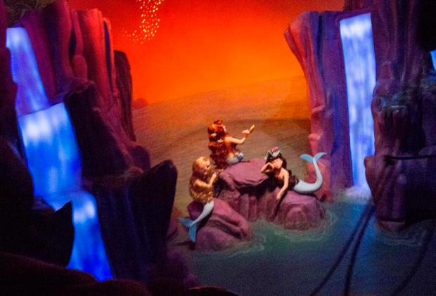 Disney Land Peter Pan Ride 60th Anniversary