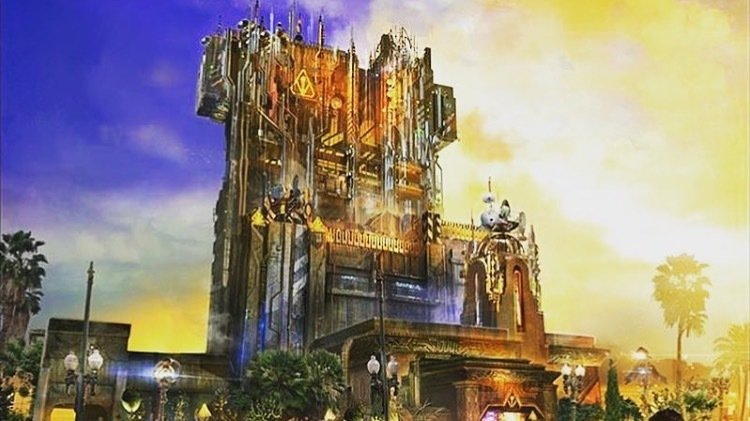 DIsney Land - Guardians of the Galaxy Ride