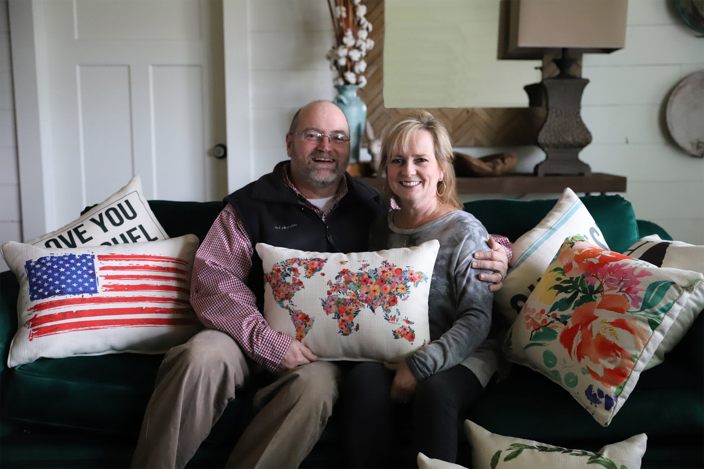 susan and tony with pillows.jpg