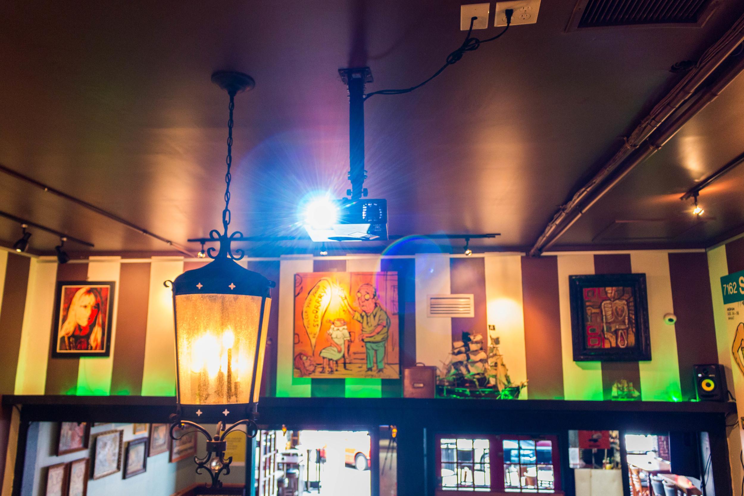 birdies ceiling and projector.jpg