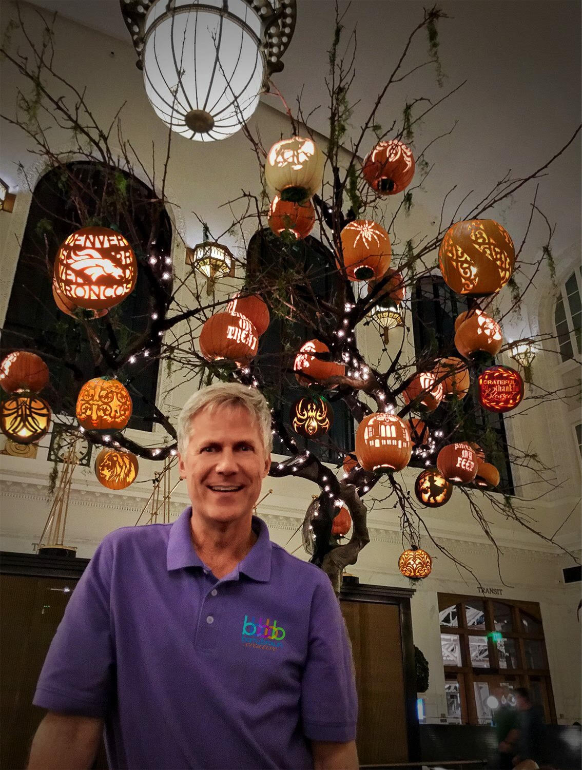 "Union Station ""Pumpkin Tree"""