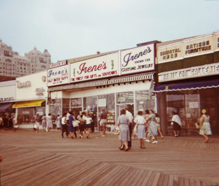 """In 1967, my parents took me and my three friends on a trip to Philadelphia, Pennsylvania, to see the Liberty Bell, and Atlantic City, New Jersey, where we strolled on the old-fashioned boardwalk,"" says Linda Hughes.   COURTESY LINDA HUGHES/REMINISCE"