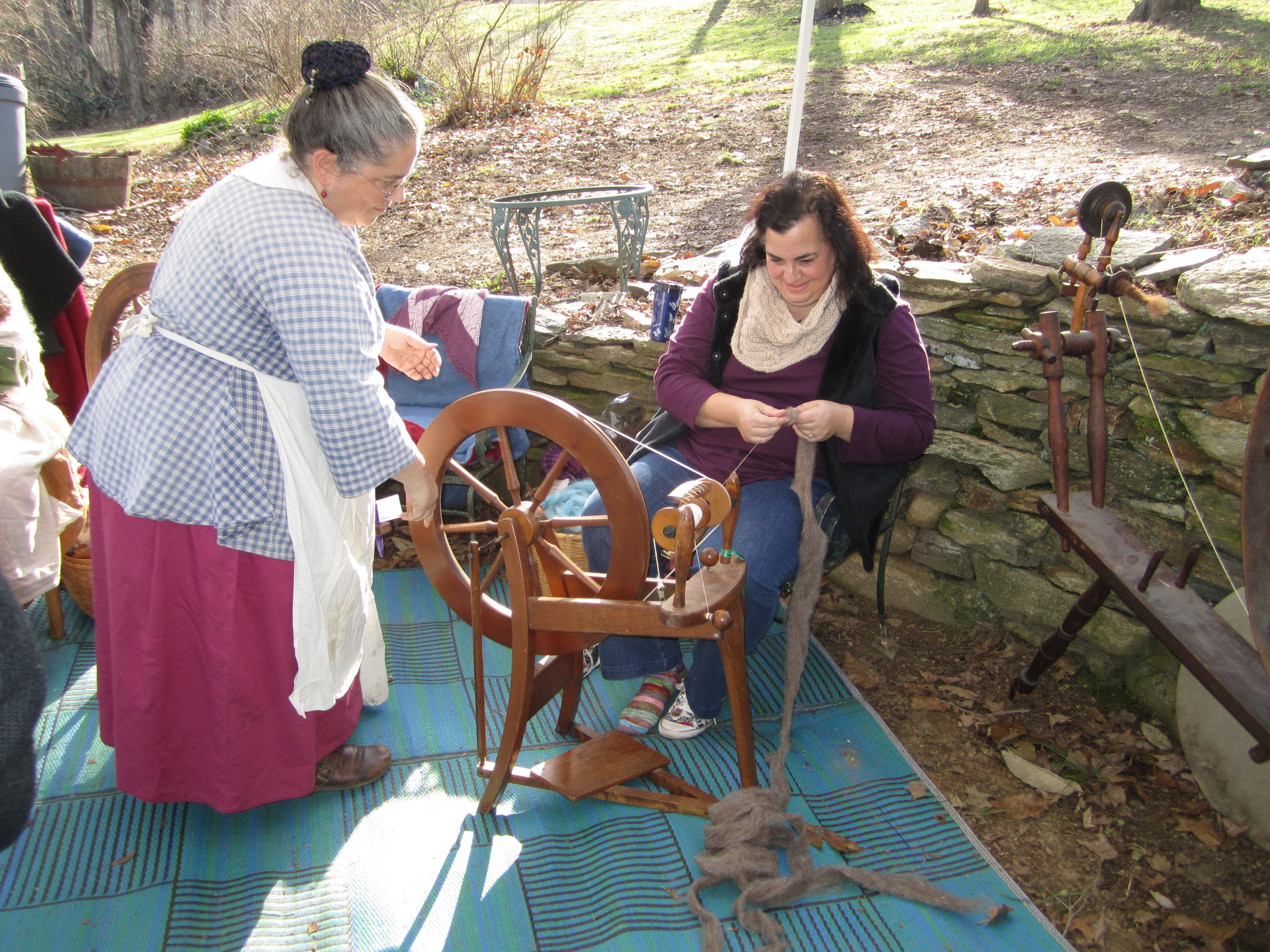 Spinning Demonstration
