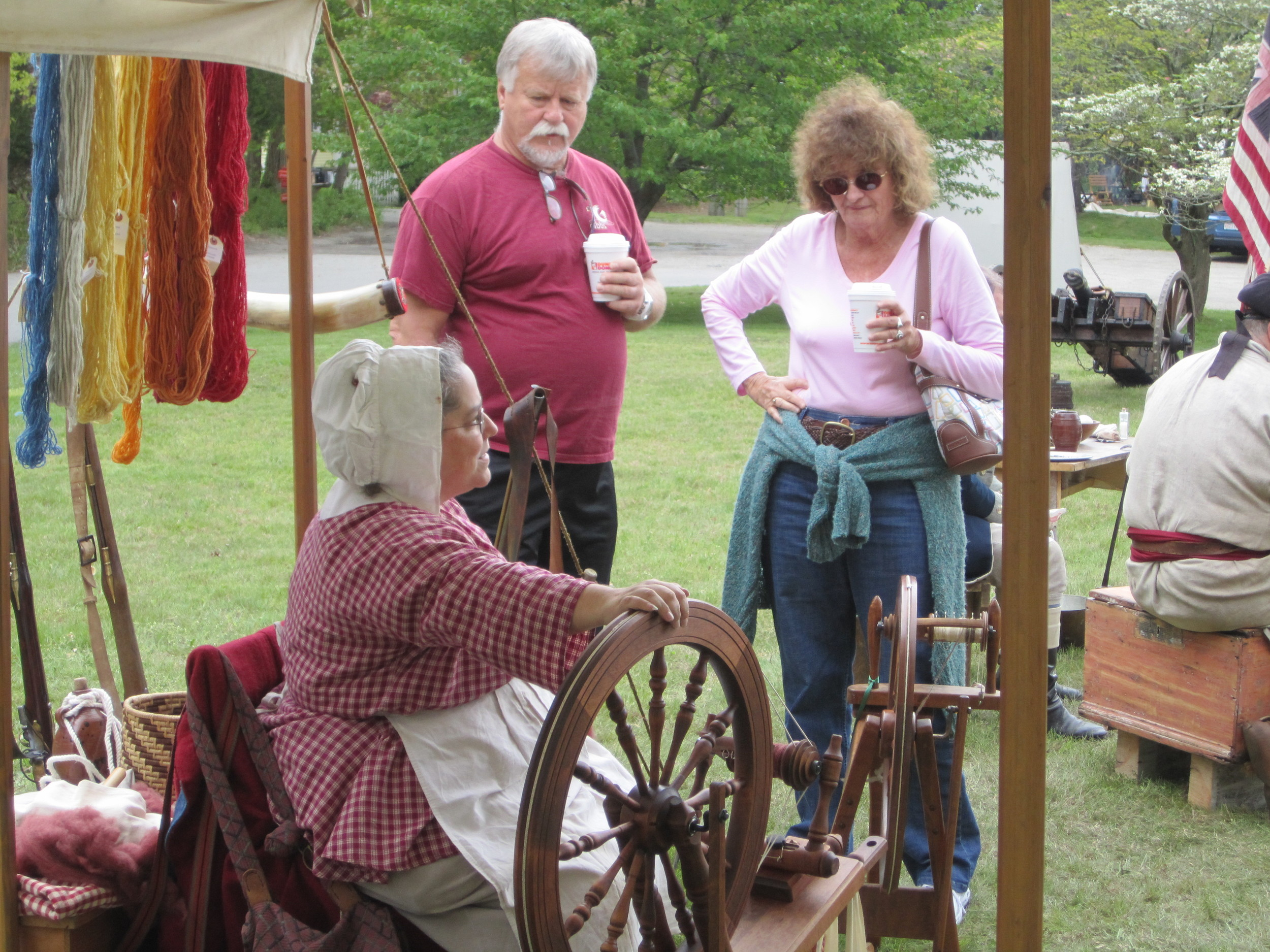 Historic Spinning Demonstration