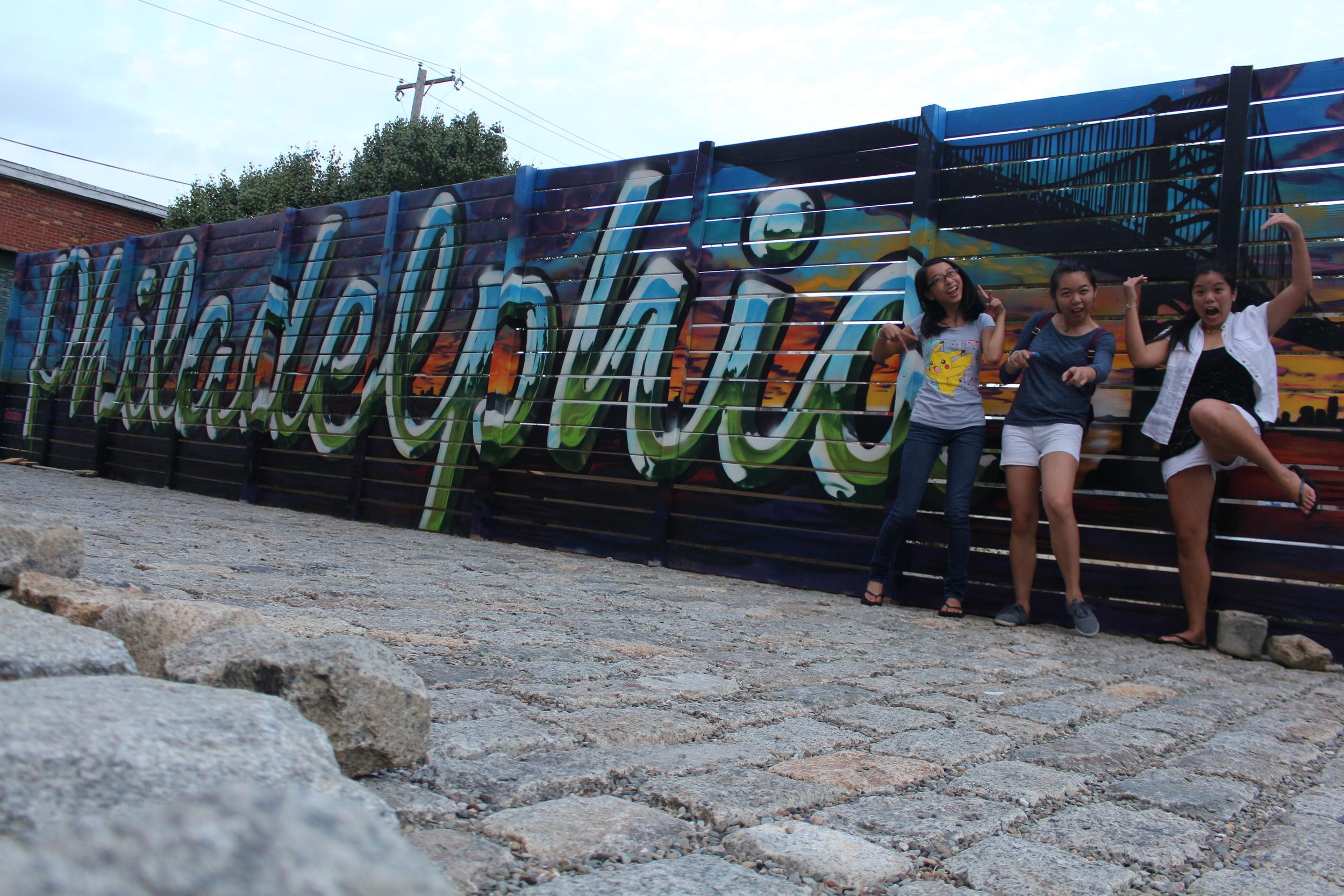 Graffiti done by @glossblack