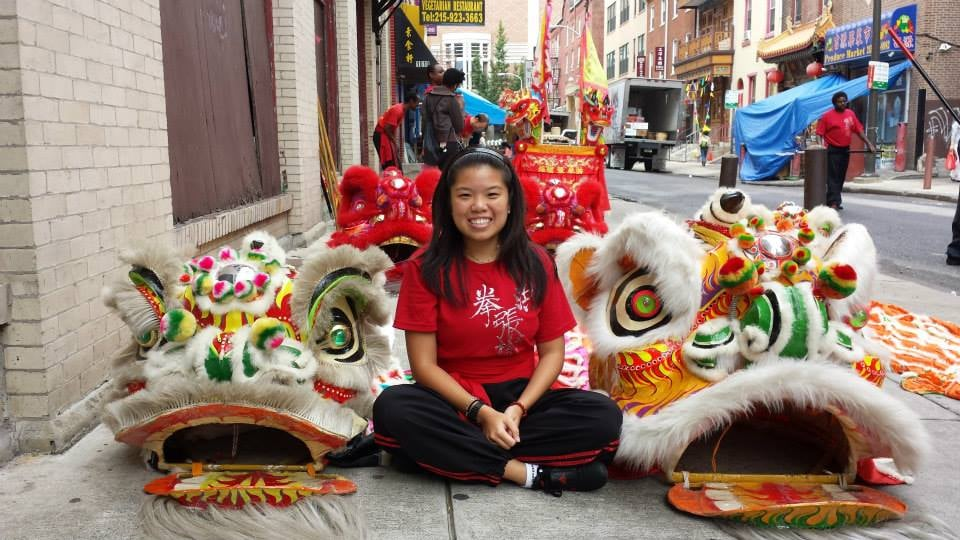 My very first lion dance!
