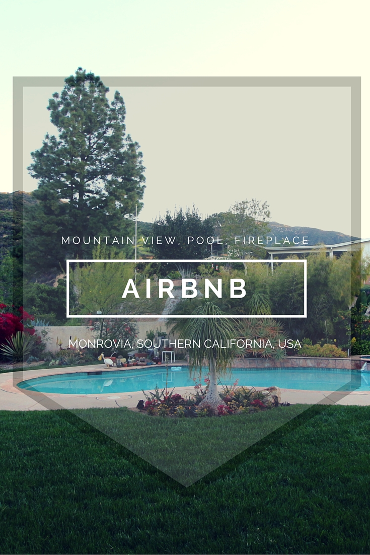 A mountain view in your backyard,a fireplace, an 8 foot pool and a hot tub. What more can you ask for in an Airbnb? Especially when you are staying in a pool house that looks better than most apartments. This Airbnb in Monrovia, Southern California will make you think about retiring here early.