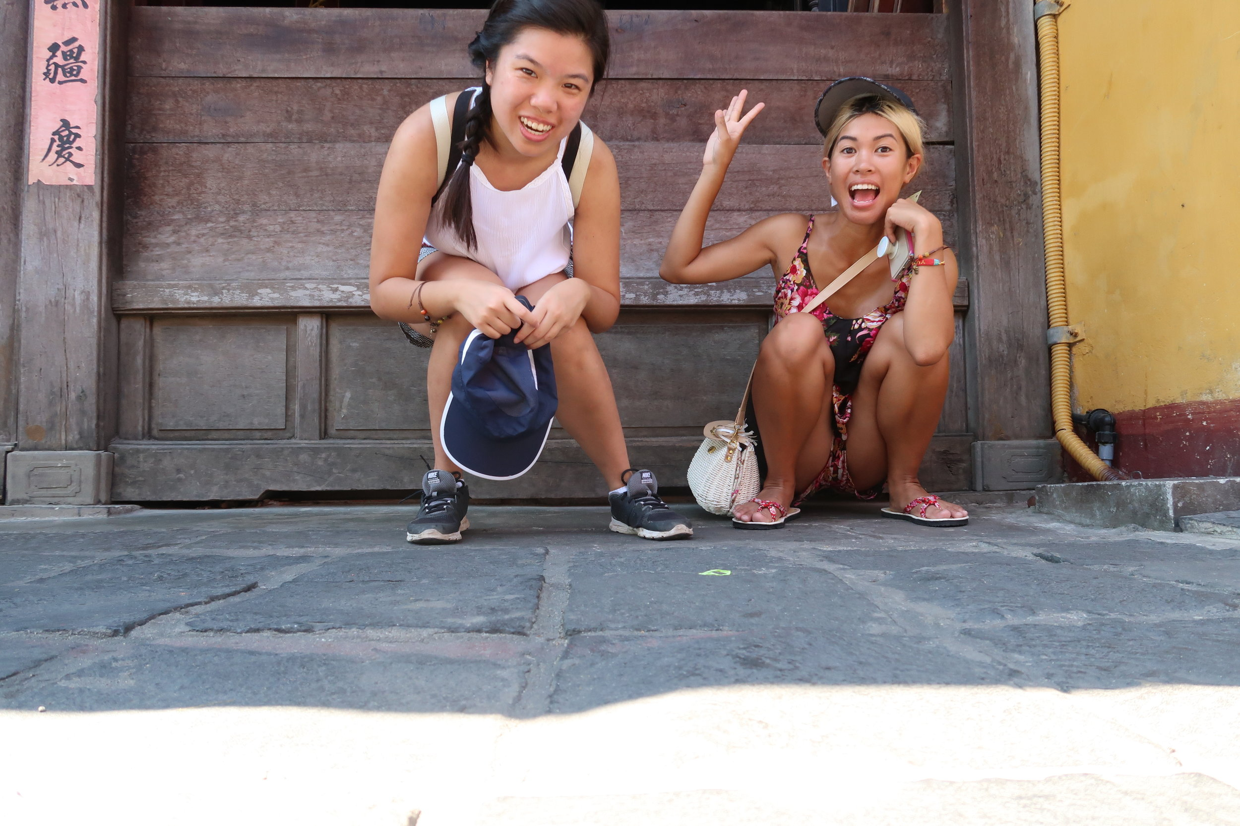 Thuy and Jo Hoi An adventure