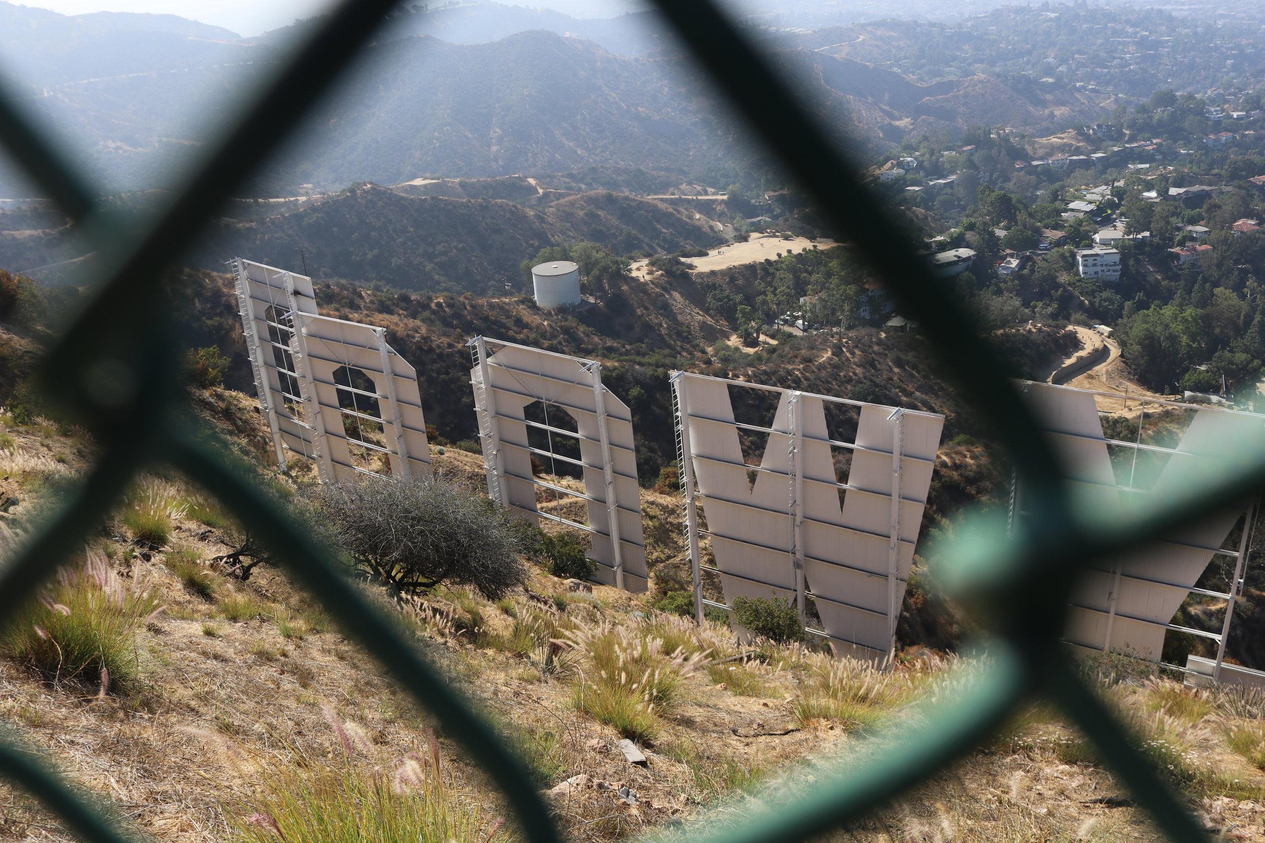 Back of Hollywood Sign.JPG