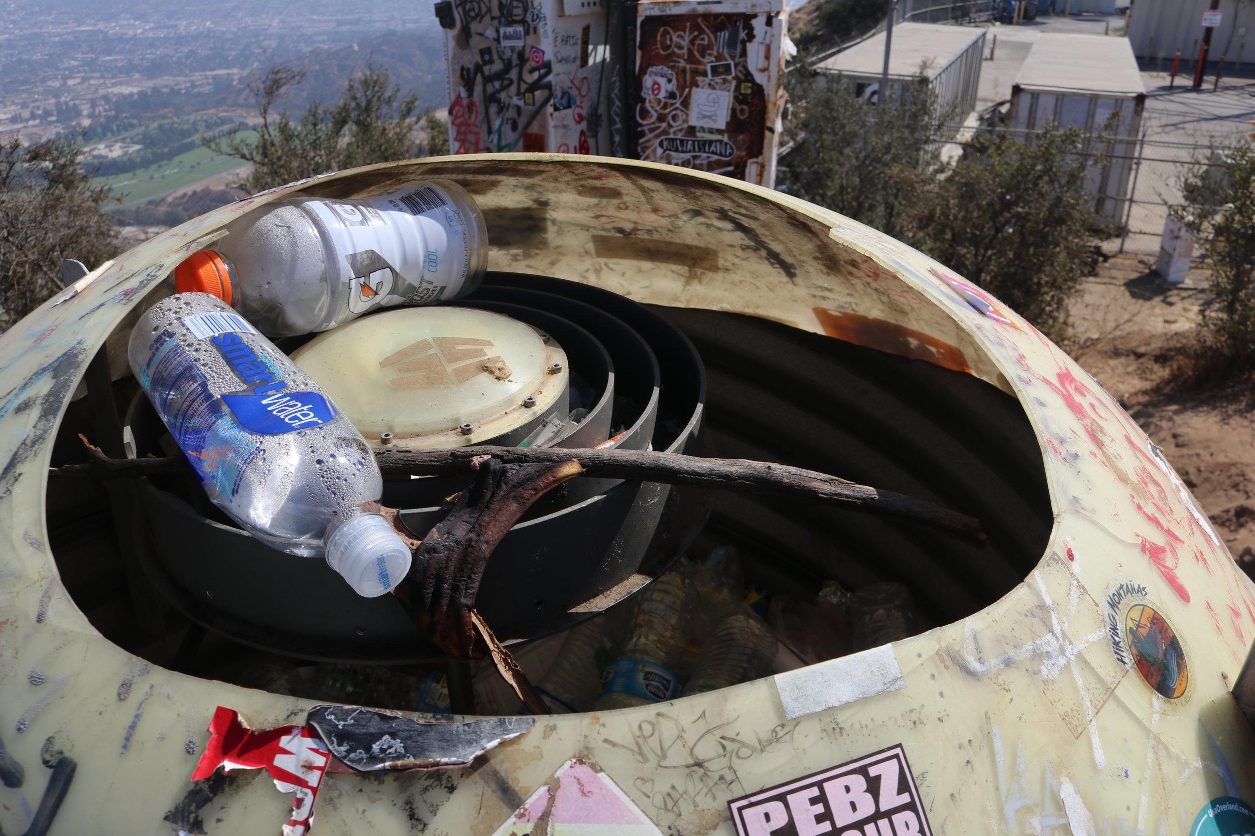 Doesn't it look like a trashcan!?