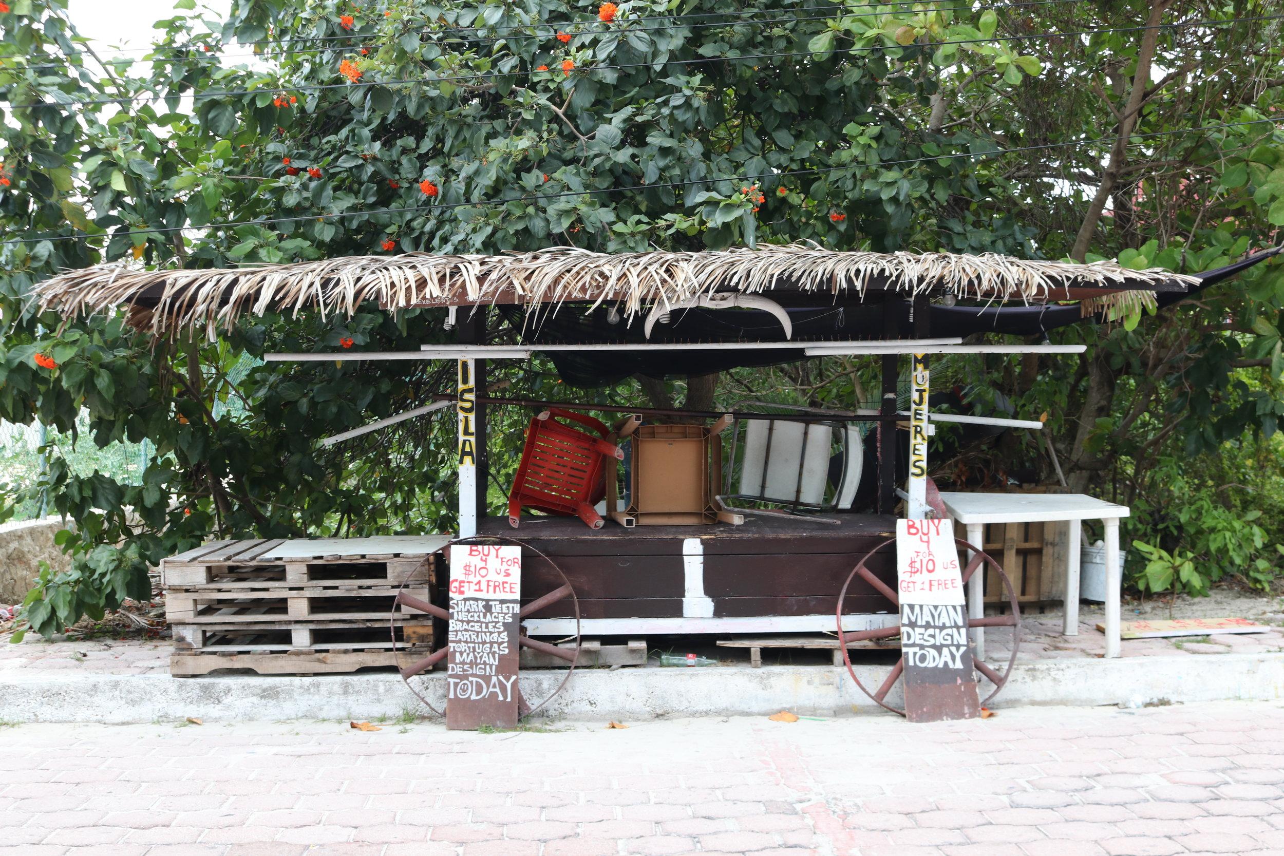 Isla Mujeres Stall.JPG