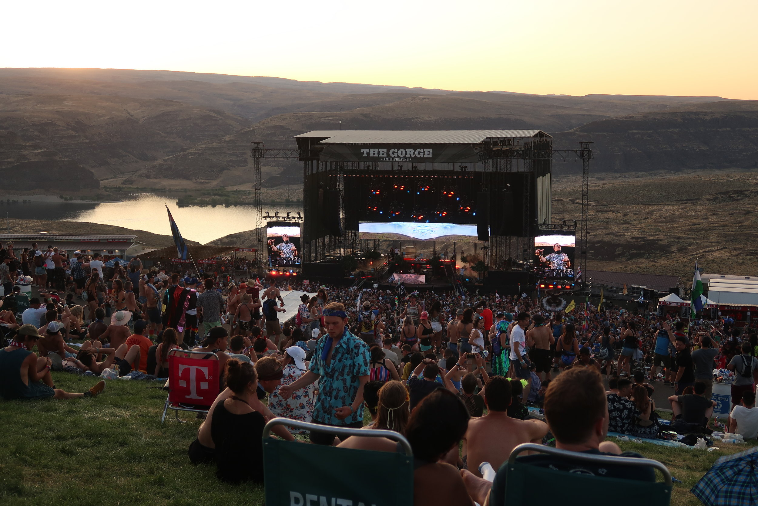 ABGTW Sunset at The Gorge