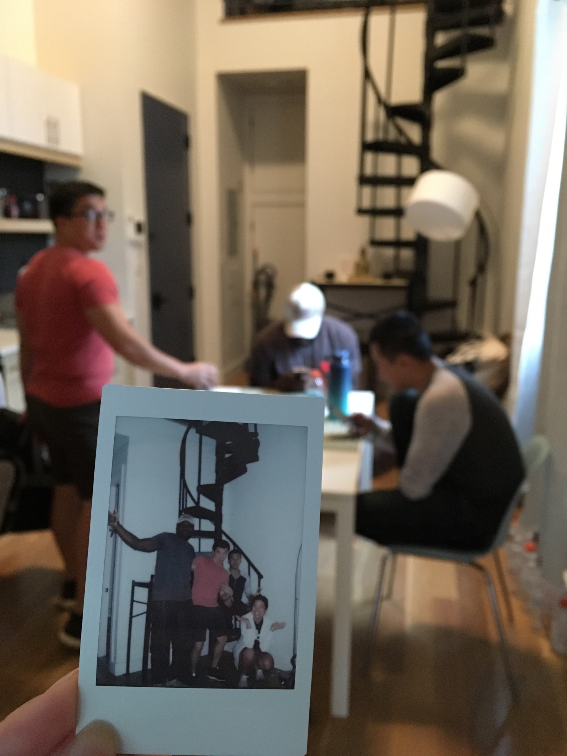 Instax at the house