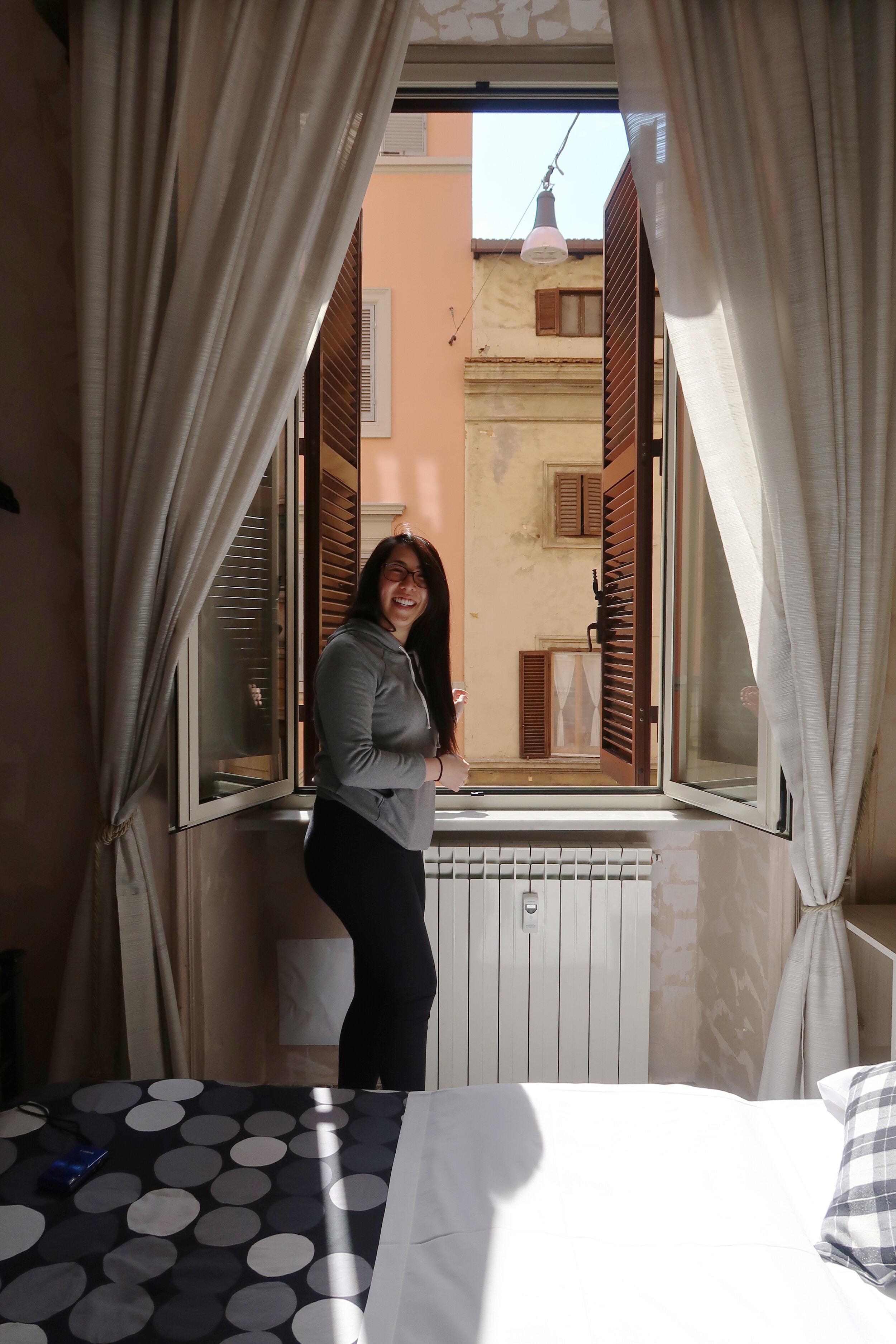 Airbnb window in Rome.JPG