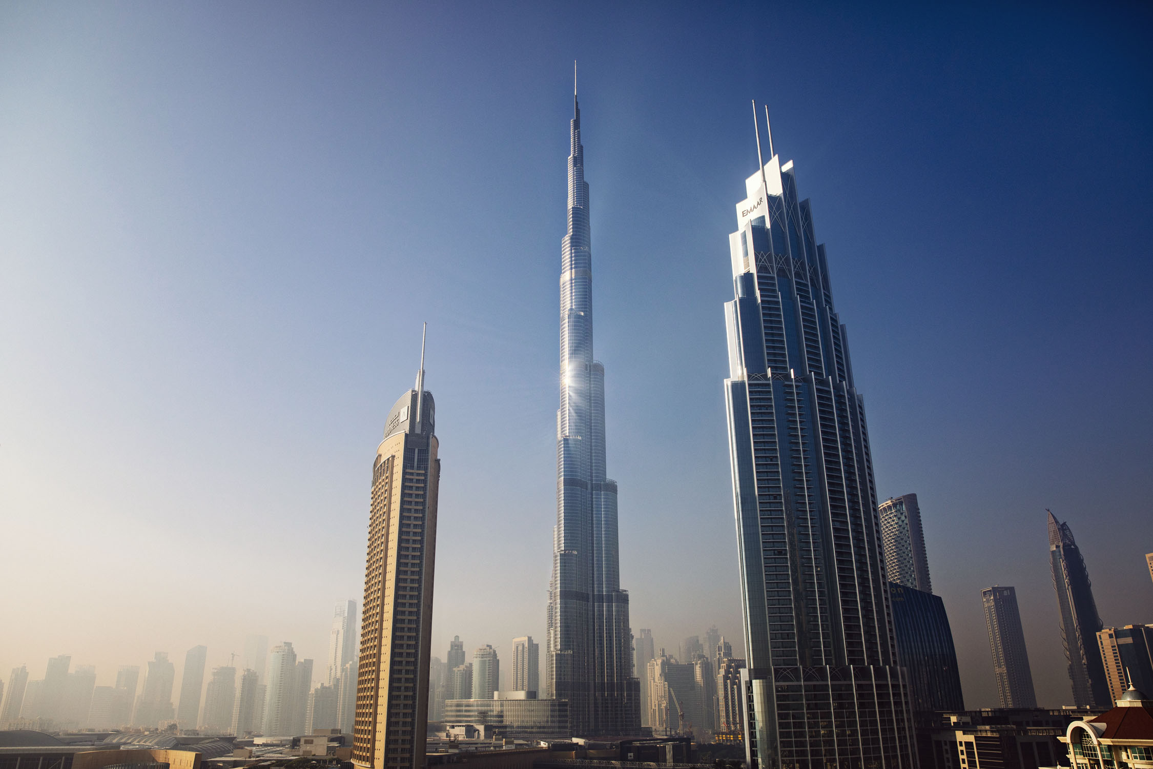 Burj Khalifa. Dubai, UAE. December 2018.