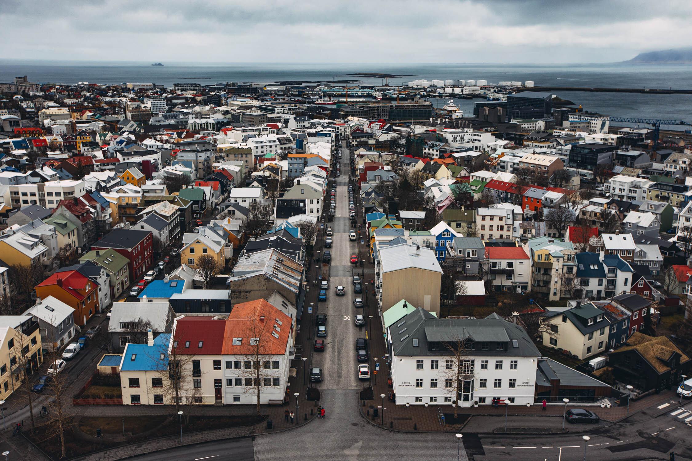 Reykjavik, Iceland. April 2019.