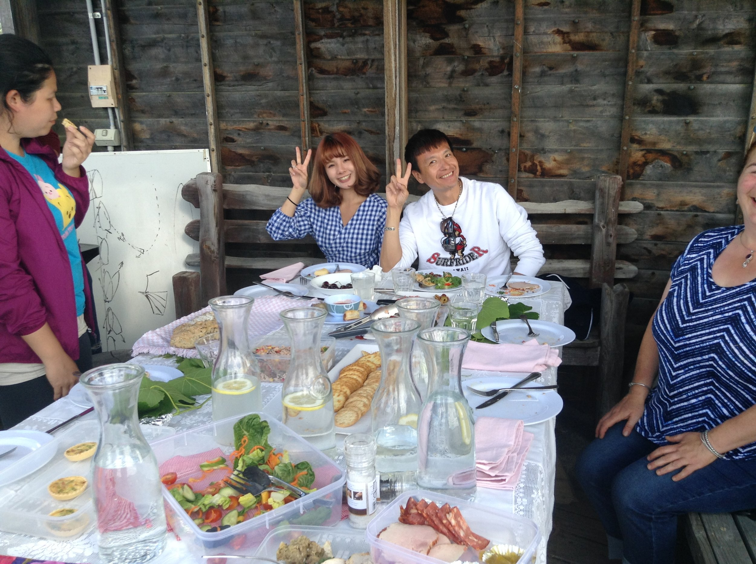Taiwanese travel film stars - Vicki and Paul.JPG