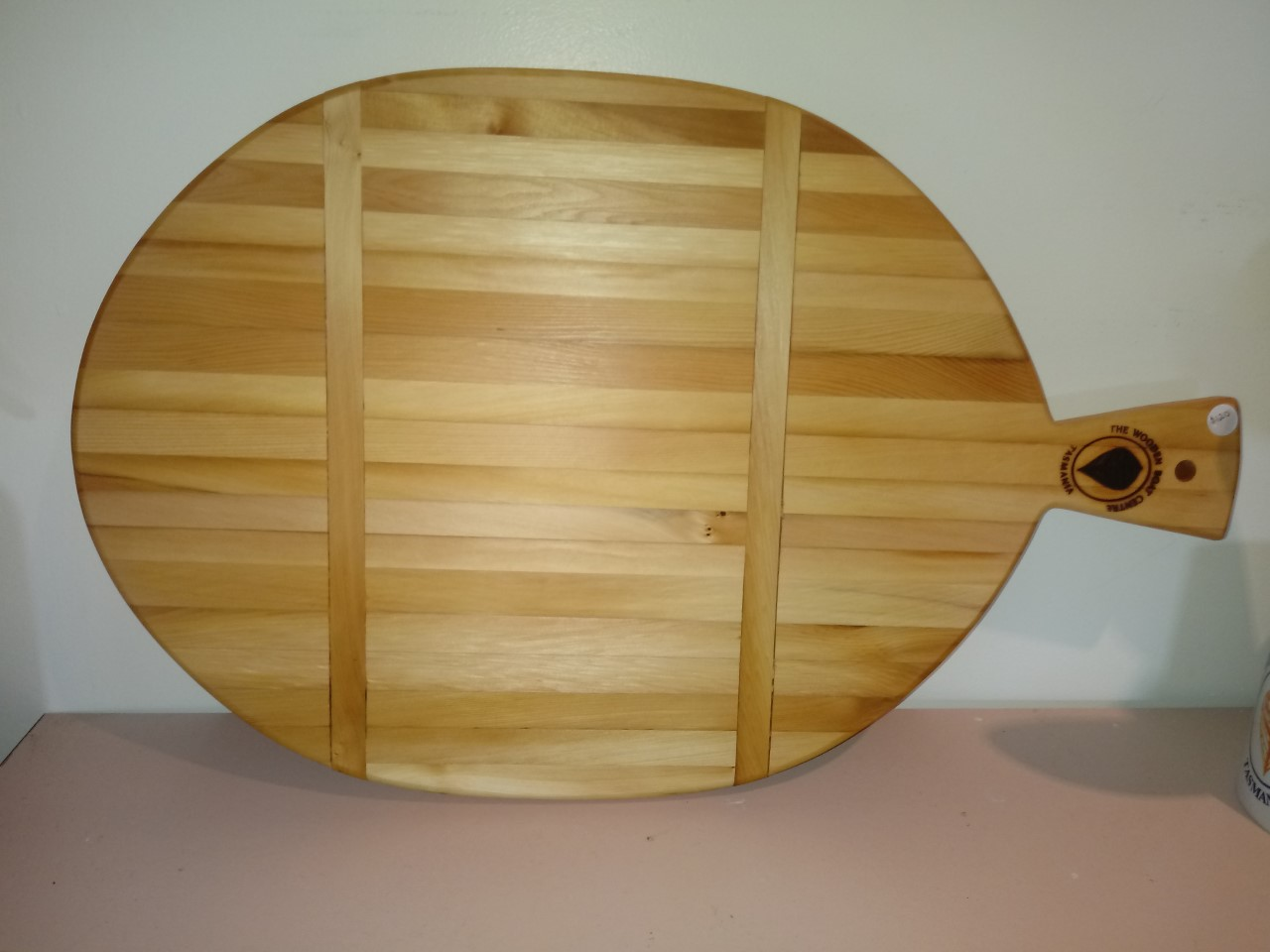 One of Francis' beautiful Huon Pine boards