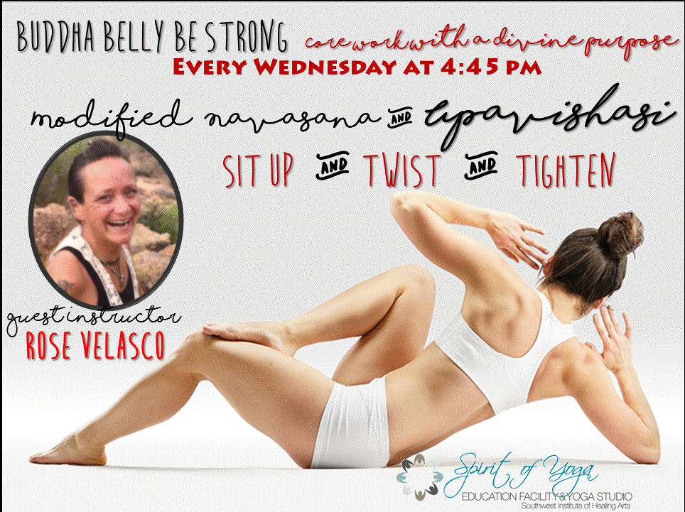 buddha belly be strong yoga