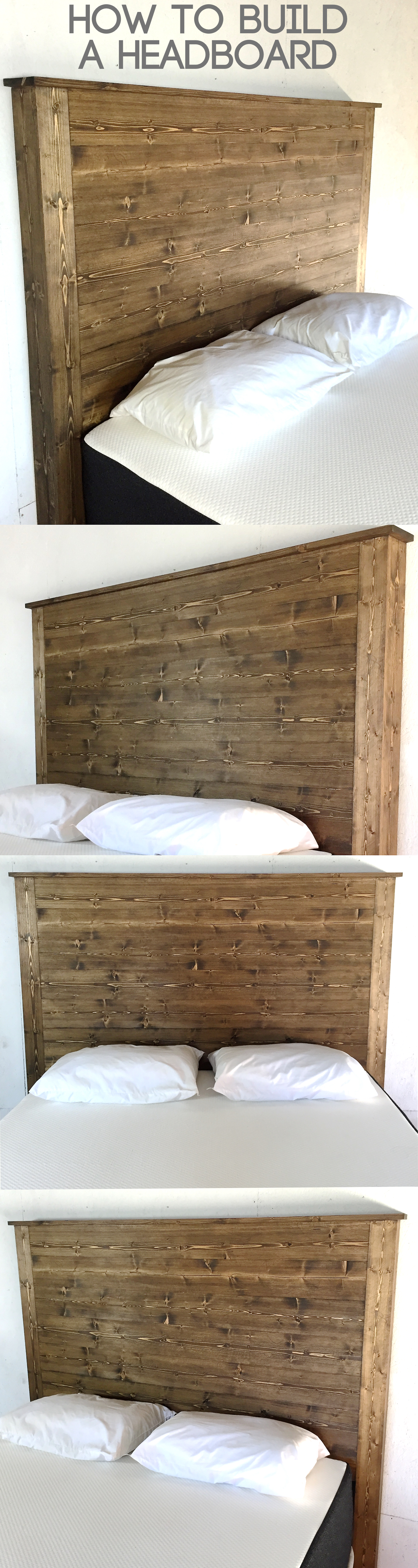 How To Build A Headboard Modern Builds