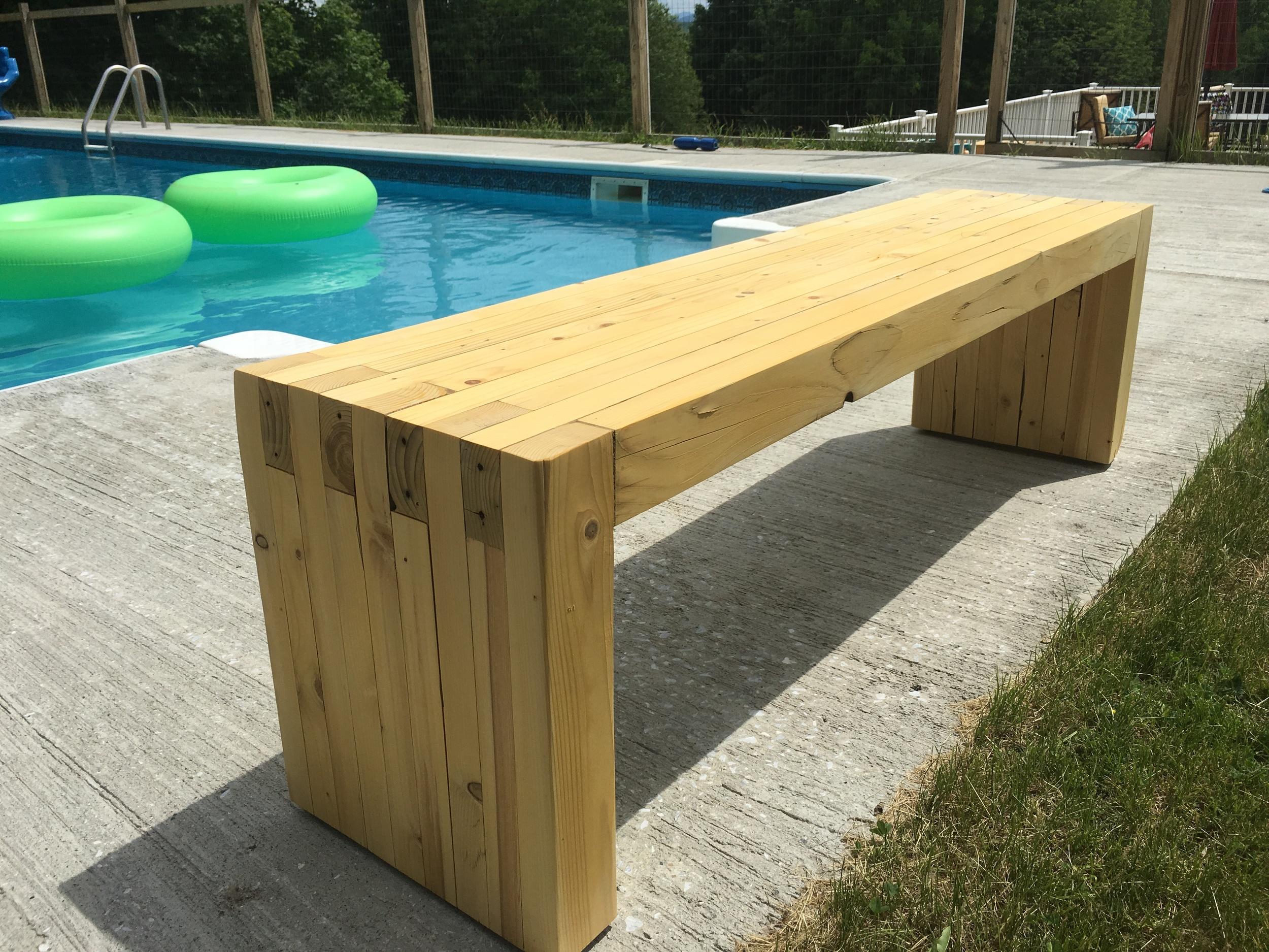 Pool Bench