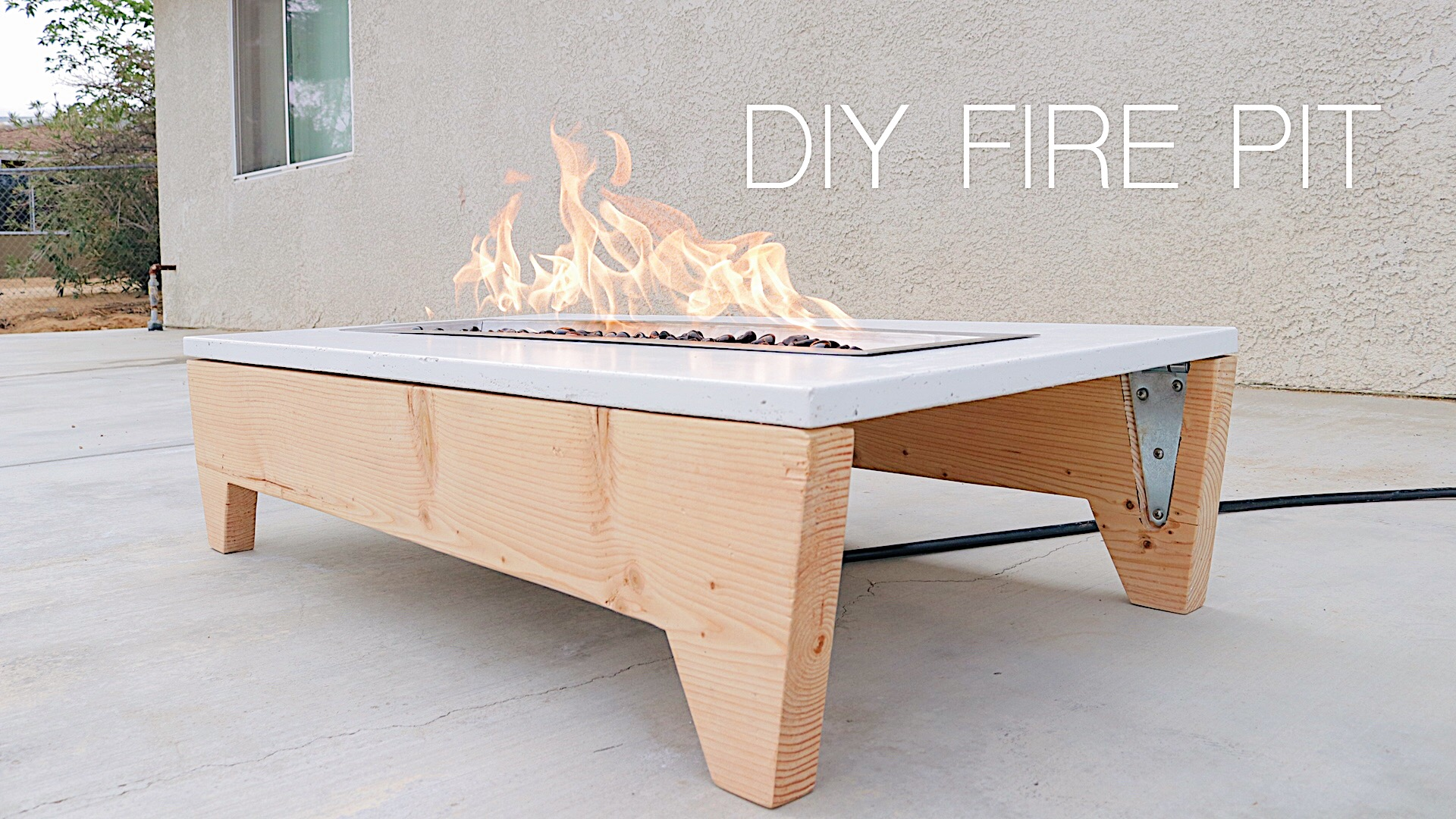 How to Build a Portable, Concrete Fire Pit by: Mike Montgomery | Modern Builds