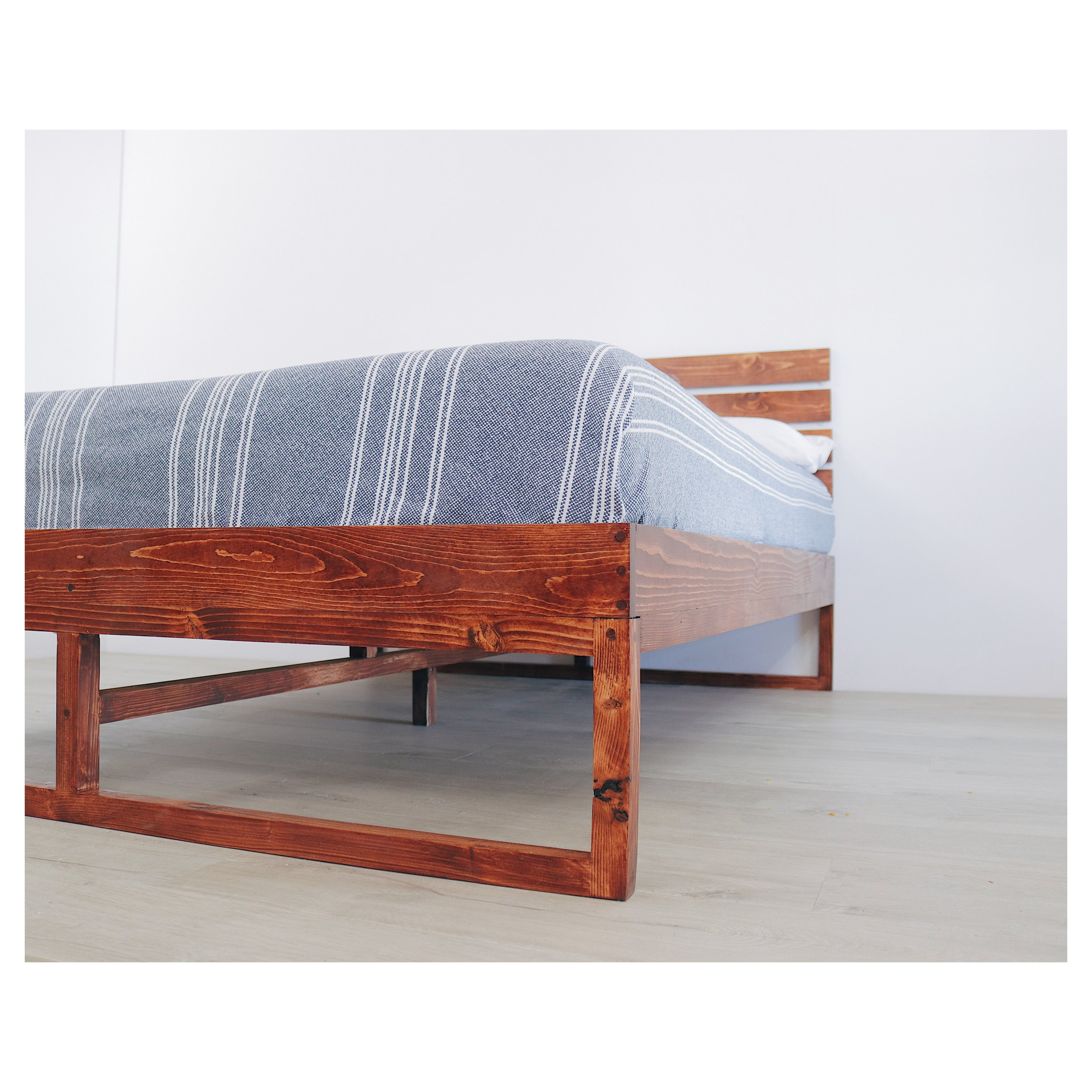 DIY Platform Bed by Mike Montgomery | Modern Builds