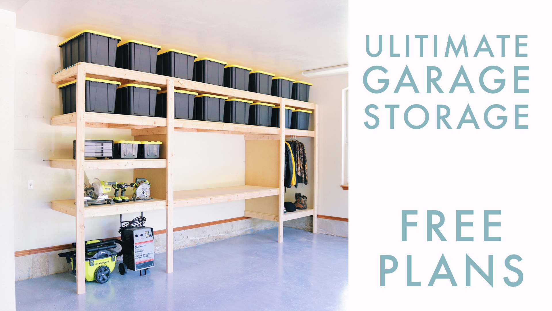 DIY Garage Storage | Modern Builds