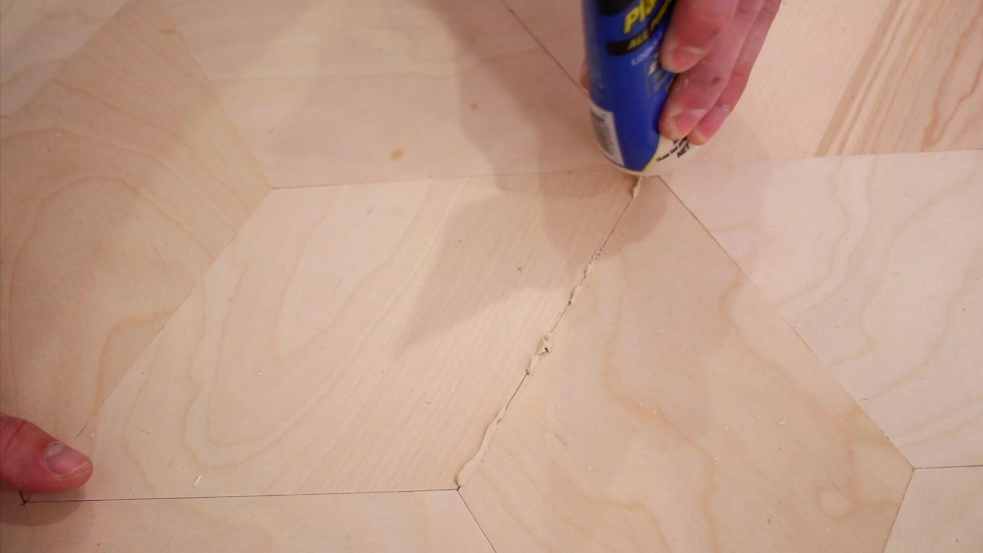 Plywood floors modern builds