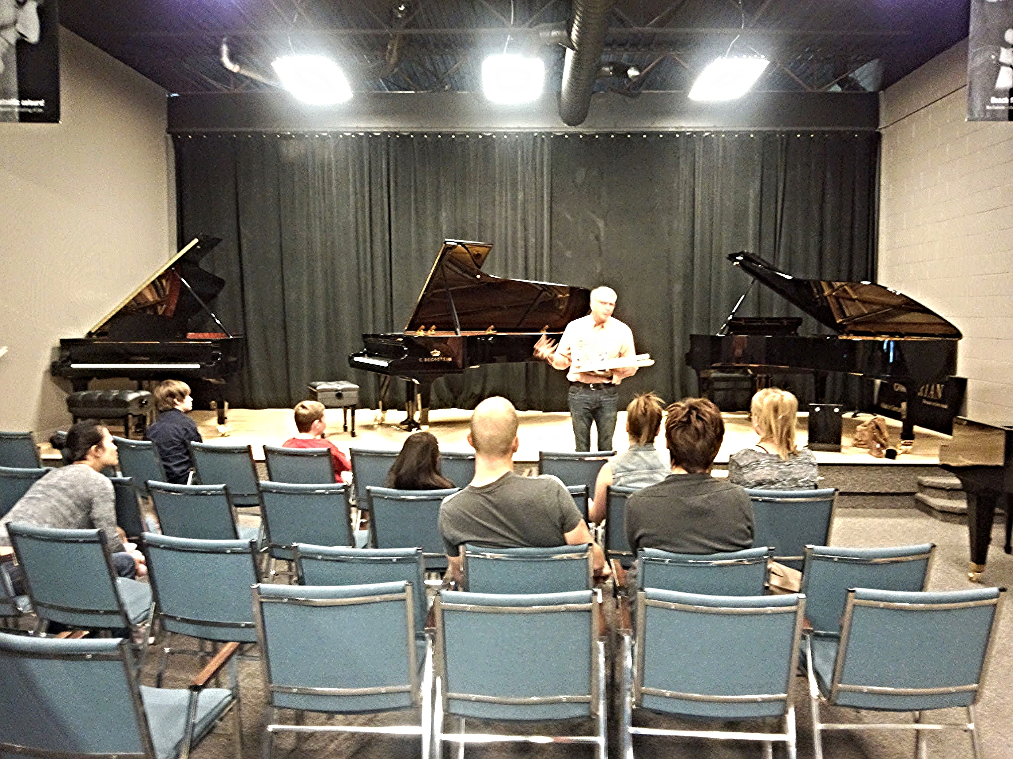 A Look Inside the Piano Workshop