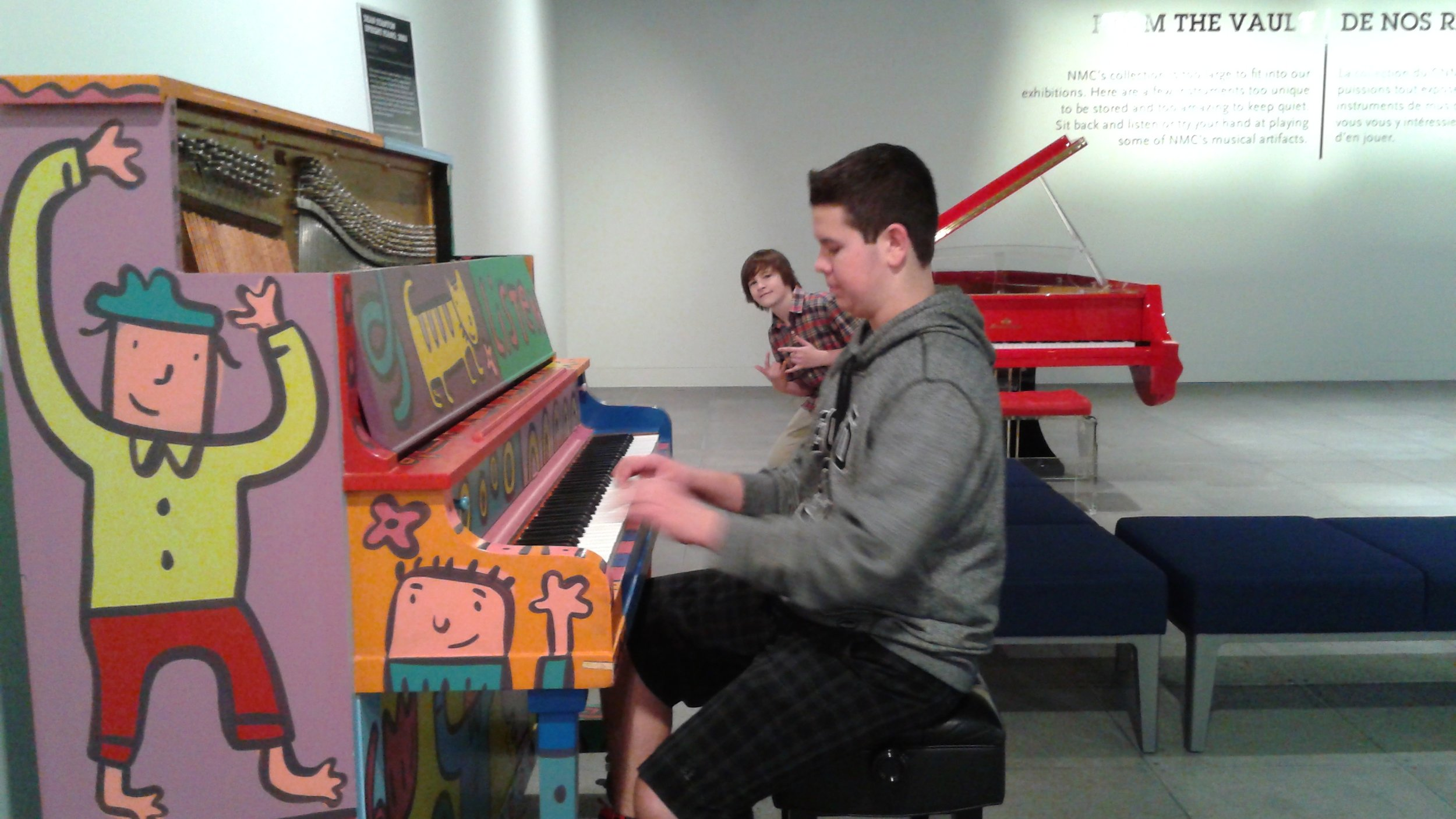 Jamming at the National Music Centre