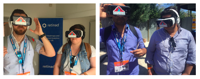 Ranch visitors got immersed in River Studios 360 content on Samsung GearVR.