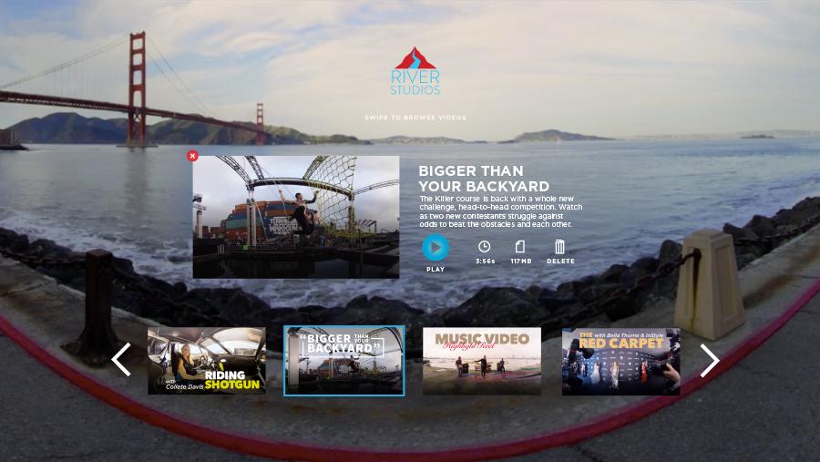 River Studios Gear VR App
