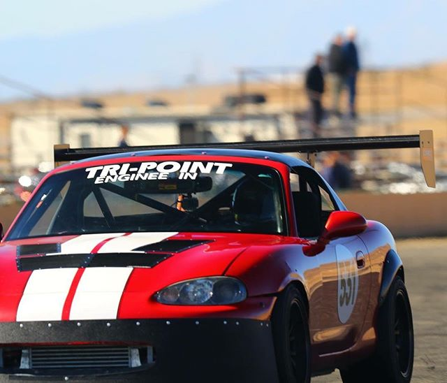 @jeffklavir putting in some hot laps at round 2 of the @xsroadstercup. This Mazdaspeed Miata is fully built and tuned by @advanced_engine_dynamix to over 300whp! #xsroadstercup #extremespeedtrackevents #topmiata #trackmiata #renderosracing #timeattack #turbo #boost #rexrocket
