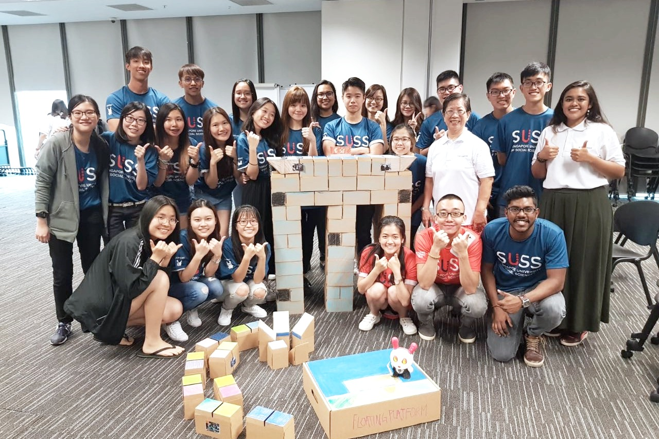 'L!VE Community' customised program with Singapore University of Social Sciences (SUSS) first -year undergraduates.