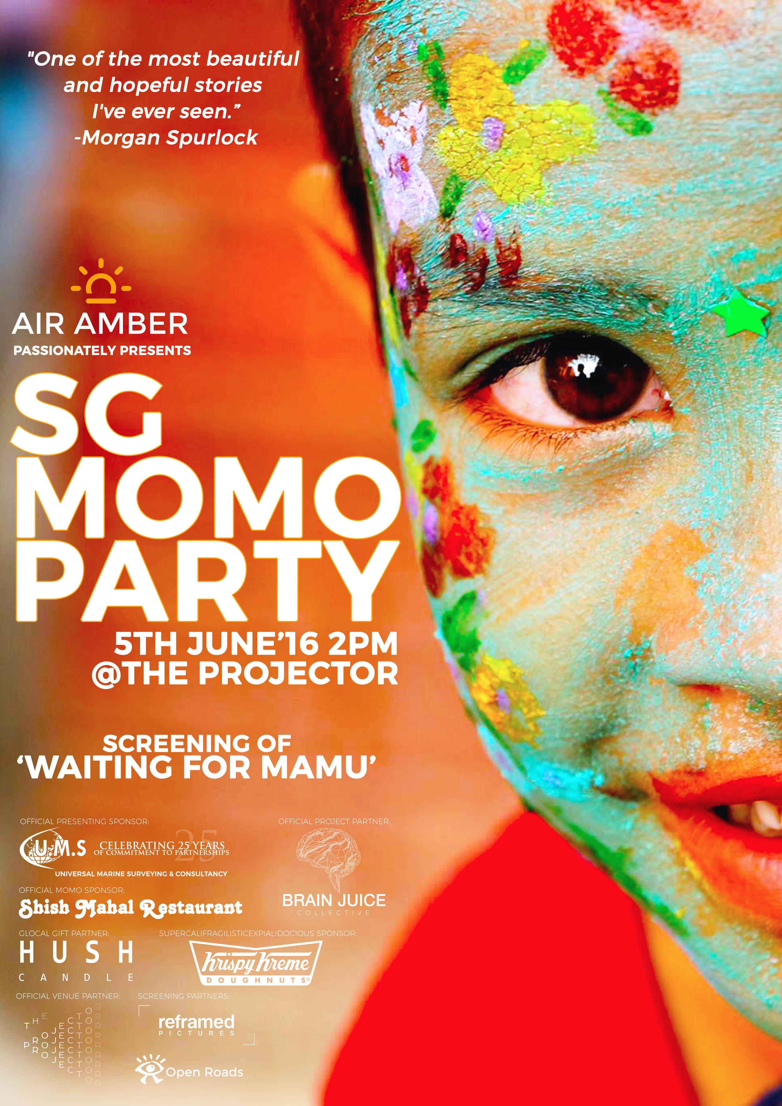 SG MOMO Party Poster