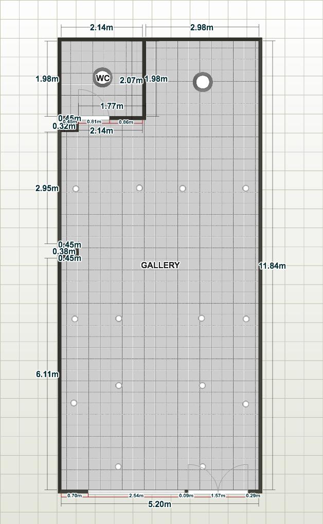 plano de galeria