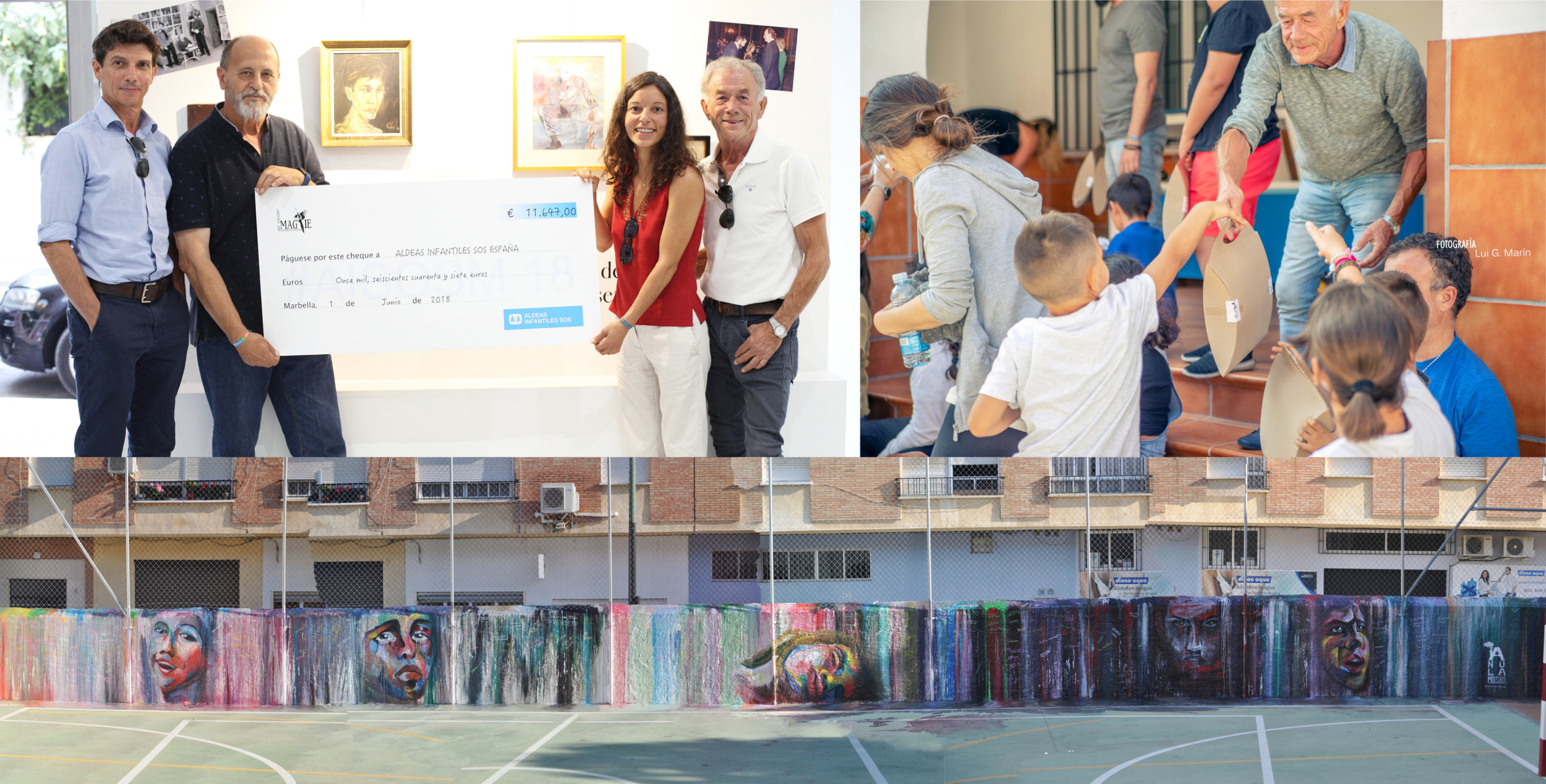 AISOSM 18 proceeds of auction
