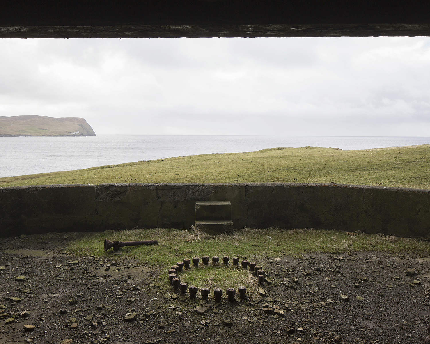 Former WW2 coastal battery, Ness of Sound