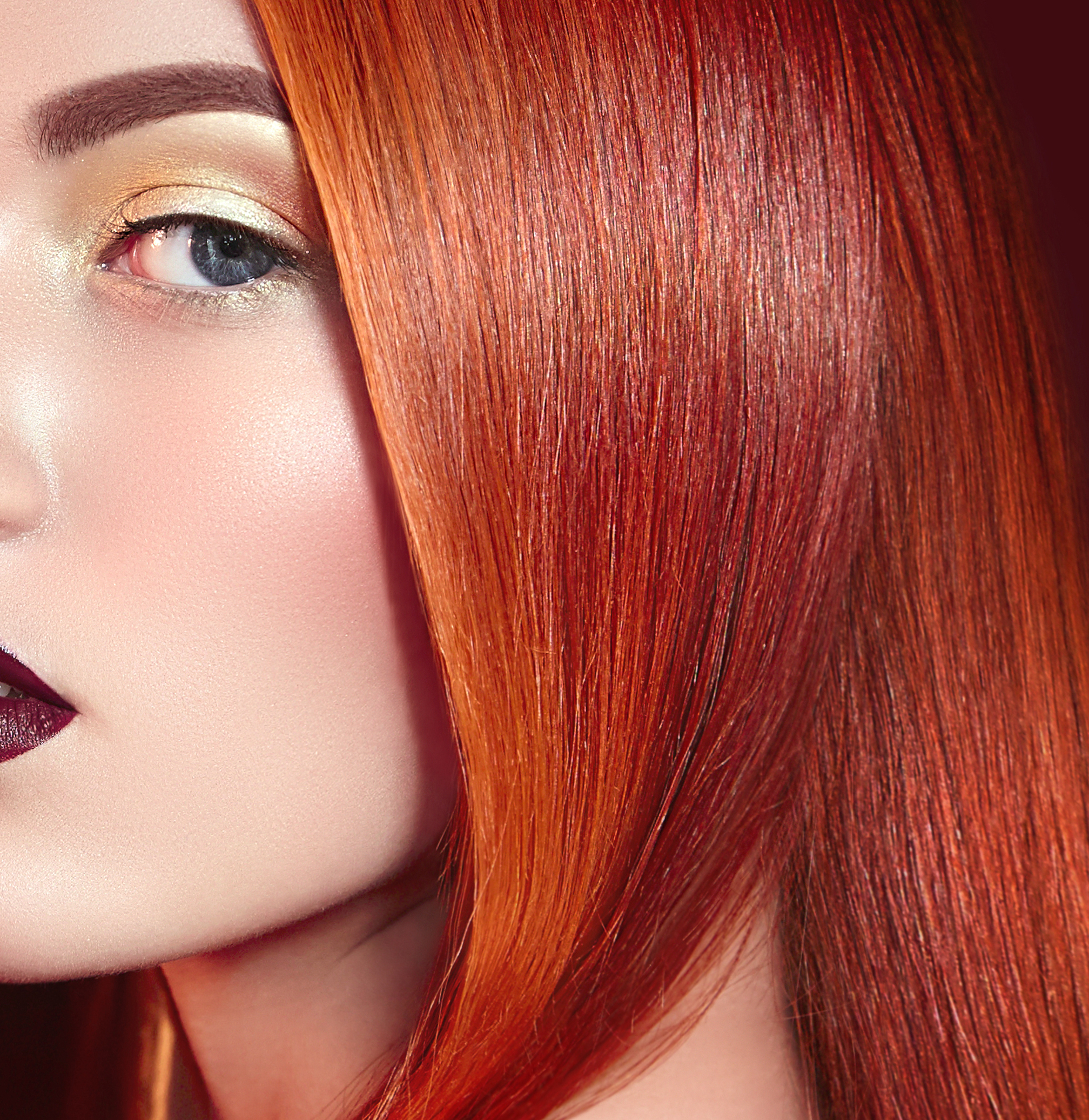 Coloured Hair - While the trend at any high-end Brisbane hair salon has involved balayages and ombres, using colours such as red with hues of violet, red and carrot hues are becoming all the rage.If you have short hair, this look can be enhanced with the addition of applying some human hair extensions.