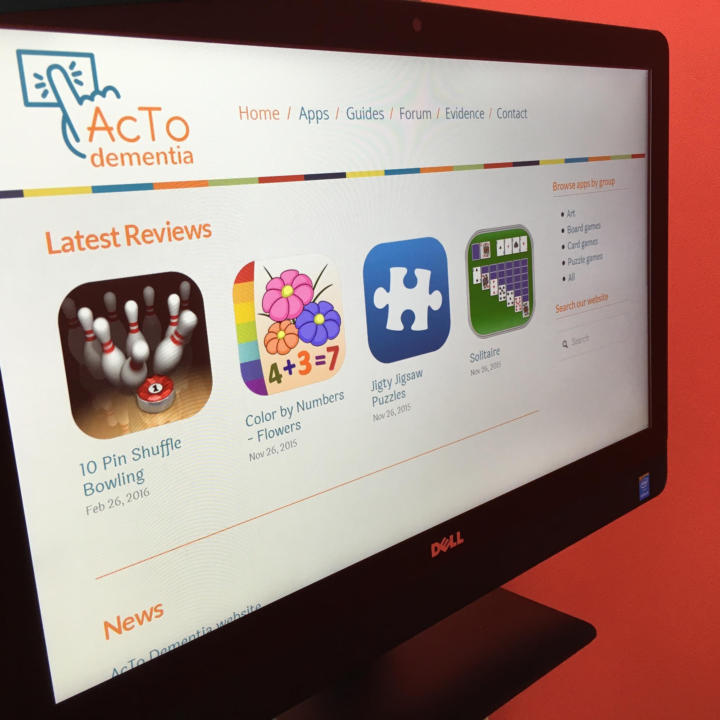 AcTo Dementia Website