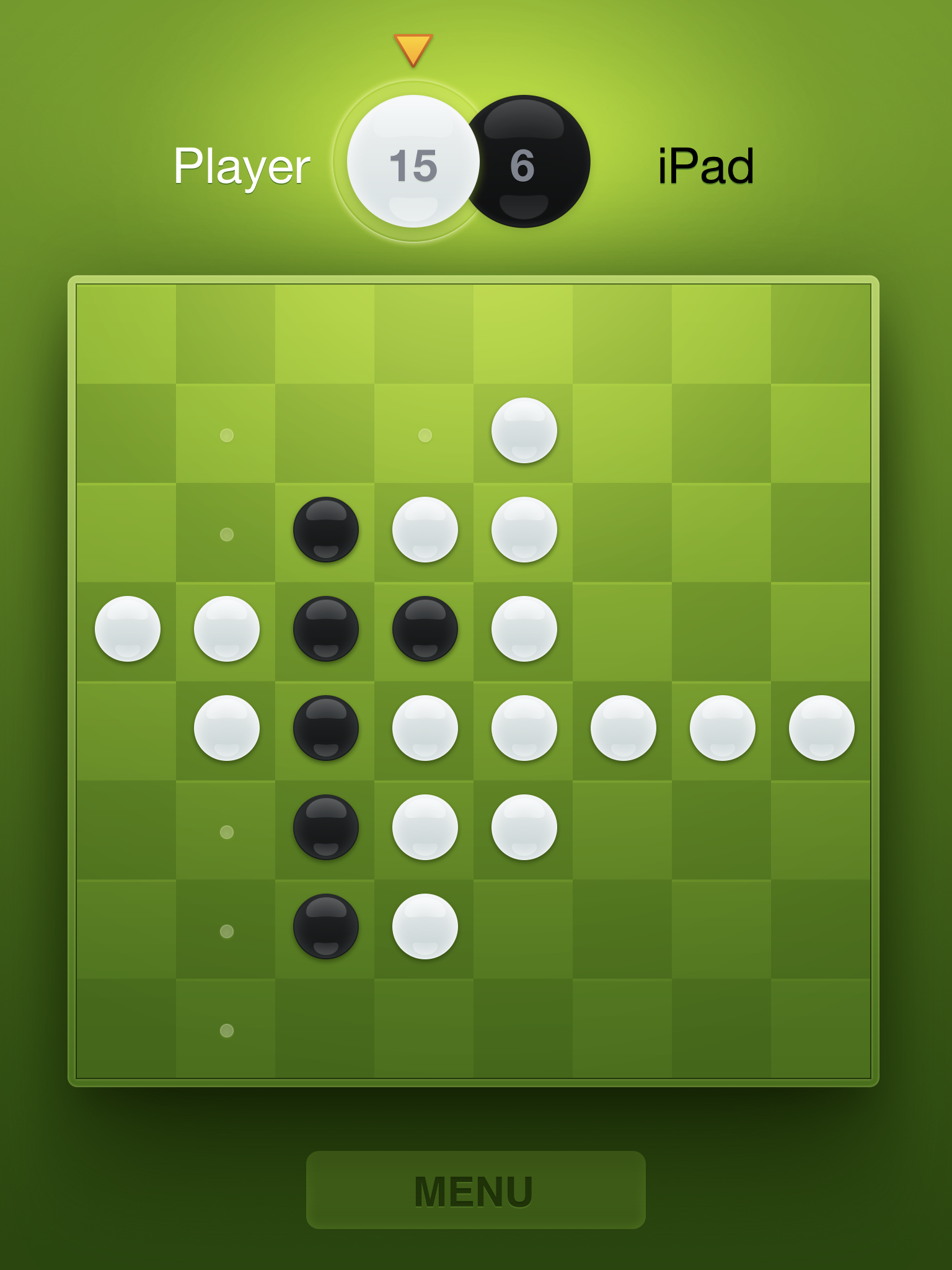 Reversi by Alexander Deplov, recommended app for people living with dementia